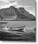Study- Kaneohe Bay Early Morn 1 Metal Print by Joseph   Ruff