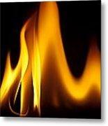 Study Of Flames I Metal Print