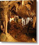 Stump Cross Caverns 2 Metal Print