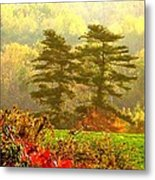 Stunning - Looks Like A Painting - Autumn Landscape  Metal Print