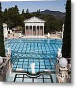Stunning Pool Metal Print