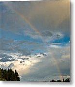 Stunning Rainbow Metal Print