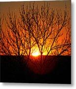 Stunning Stone Park Sunset Metal Print
