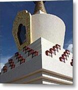 Stupa Metal Print