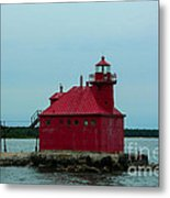 Sturgeon Bay Lighthouse Metal Print