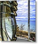 Sturgeon Point Lighthouse Metal Print