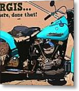 Sturgis Motorcycle Rally Metal Print