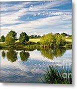 Sturminster Newton - River Stour - Dorset - England Metal Print by Natalie Kinnear