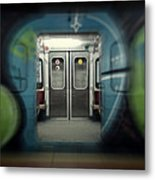Sub-way Of Art IIi Metal Print
