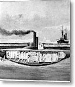 Submarine 'holland,' 1898 Metal Print