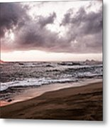 Subtle Purple Metal Print by Jason Bartimus