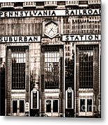 Suburban Station Metal Print by Olivier Le Queinec