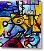 Suburbias Daily Beat Metal Print by Regina Valluzzi