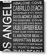 Subway Los Angeles 3 Metal Print