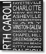 Subway North Carolina State 1 Metal Print