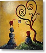 Such A Romantic By Shawna Erback Metal Print