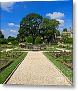 Sudeley Castle Gardens In The Cotswolds Metal Print