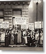 Suffrage Protest, 1916 Metal Print