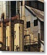 Sugar Factory Metal Print