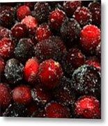 Sugared Cranberries Metal Print