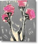 Suggestion Of Flowers Sugo1 Metal Print