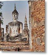 Sukhothai Historical Park - Sukhothai Thailand - 011332 Metal Print