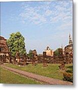 Sukhothai Historical Park - Sukhothai Thailand - 011344 Metal Print
