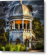 Sulfur Springs Gazebo Metal Print