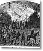 Sullivans March, 1779 Metal Print