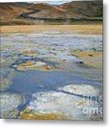 Sulphur And Volcanic Earth Metal Print