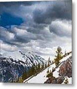 Sulphur Mountain Up High Metal Print