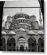 Sultan Ahmed Mosque Metal Print