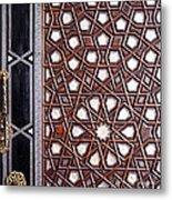 Sultan Ahmet Mausoleum Door 01 Metal Print