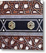 Sultan Ahmet Mausoleum Door 03 Metal Print