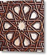 Sultan Ahmet Mausoleum Door 04 Metal Print