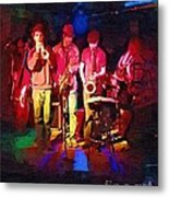 Sultans Of Swing Metal Print