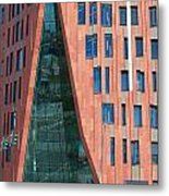 Sumatrakontor Portal Hafencity Metal Print