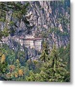 Sumela Monastery In Black Sea Region Of Turkey Metal Print