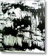 Sumi-e 130425-4 Metal Print
