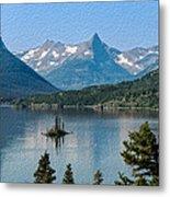 Summer At Glacier National Park Metal Print