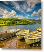 Summer Boating Metal Print