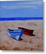Summer Boats Metal Print