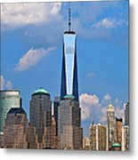 Summer Cityscape Nyc  Metal Print
