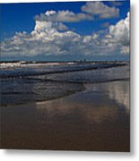 Summer Day At The Beach Metal Print