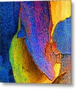 Summer Eucalypt Abstract 11 Metal Print