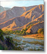 Summer Evening Eaton Canyon Metal Print by Armand Cabrera