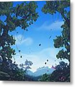 Summer Fields Metal Print