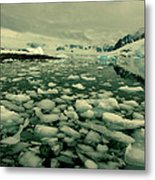Summer Ice Metal Print