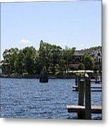 Summer Impression Lake Winnipesaukee Metal Print