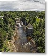Summer In Asuable Chasm Metal Print